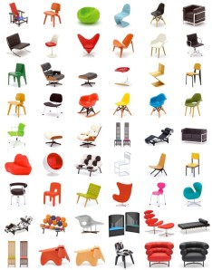 Miniature-Designer-Chair-Collection