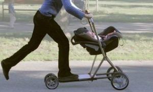 carrinho de bebe skate
